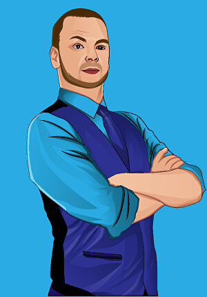 I will create your photo into a vector art portrait
