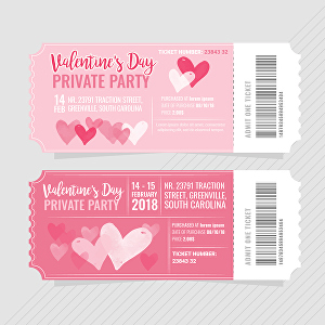 I will Create valentine day special party flyer or poster