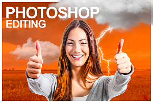 I will do adobe photoshop editing and photo manipulating