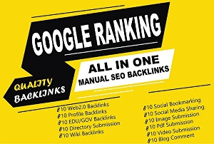 I will All In One SEO Backlinks Link Building Service