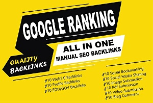 I will Build All In One SEO Link Building Service