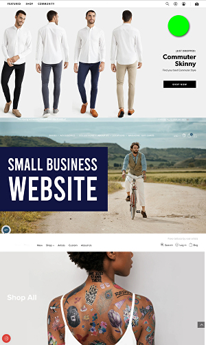 I will design Small Business Website for you