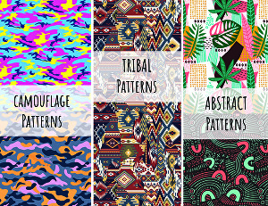 I will design trendy  Seamless patterns print ready files for your fabrics