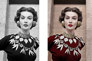 I will colorize and restore black and white photos