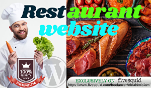 I will build a WordPress restaurant website with online ordering & reservations
