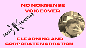I will voiceover E Learning and corporate narration projects