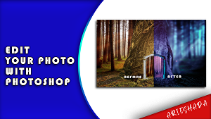 I will manipulate your photo with photoshop
