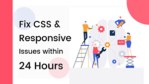 I will Fix CSS bugs, Responsive issues for your WordPress website