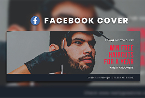 I will create professional Facebook, Youtube Cover or Header