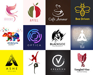 I will Design a Modern Flat or Luxury Minimalist 3d Logo For Your Business or Brand