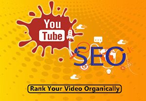 I will do YouTube SEO for improving your video rank