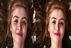 I will do professional natural photo retouching