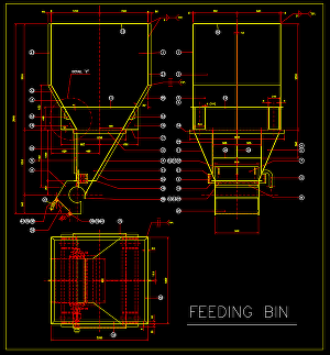 I will Make Shop Drawing in CAD 2d-3D for Plate-Bin-Chute-Hopper