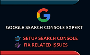 I will setup google search console and fix related all issues