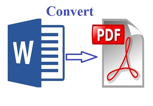 convert PDF to Ms Word or word to PDF