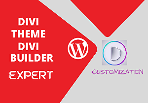 I will create a responsive landing page using divi theme and Elementor builder