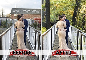 I will do photoshop edits, remove background, face swap, image resize professionally