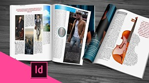 I will do any adobe indesign projects