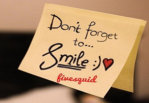 I will Write your Name on Dont Forget to Smile Quote Profile Pics