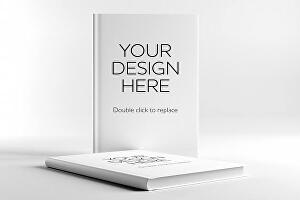 I will create 5 book mockups from your 2d cover