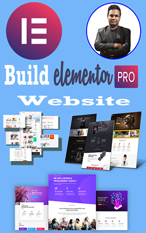 I will create WordPress website in elementor pro