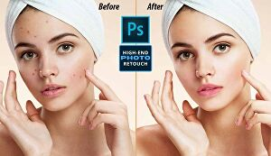 I will do super-fast High-End photo retouching, products Retouching, and Photo Editing