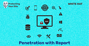 I will do penetration of your website with a report