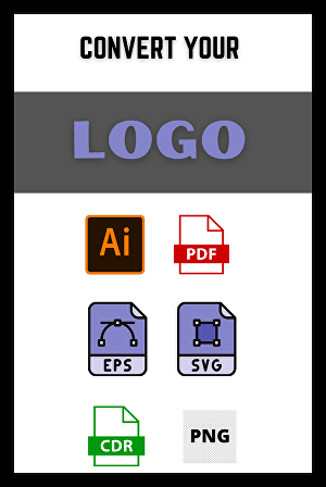 I will convert logo to vector in 24 hours