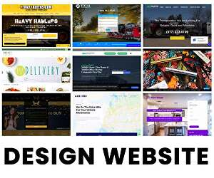 I will Design Website, Create Website with SEO