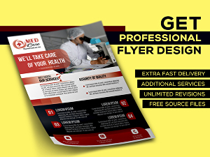 I will do amazing corporate flyer design or brochure design