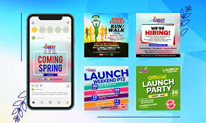 I will design social media post and banner within 1 day