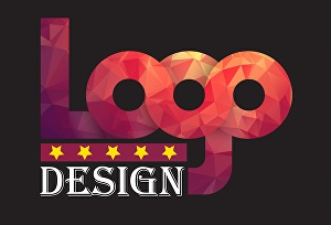 I will make typography, minimalist or flat logo with icon
