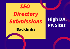 I will create 60 Directory Submission Backlinks for your website rank