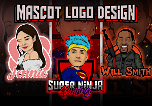 I will make a mascot logo based on your photo