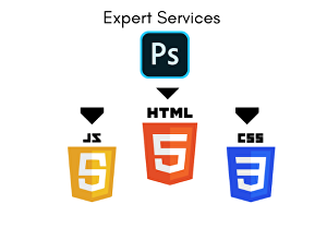 I will convert xd, sketch and PSD to HTML with bootstrap5 responsive