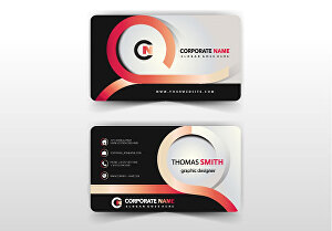 I will Design Professionally, Elegant Business Card  or Visiting Card with perfection