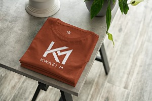 I will Mockup Your Brand Logo onto Apparel