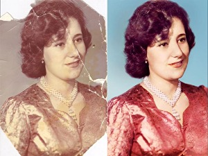 I will restore photo, retouch, repair, colorize old photo