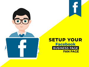 I will set up and optimize your Facebook business page or fan page