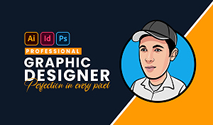 I will do any graphic design for you