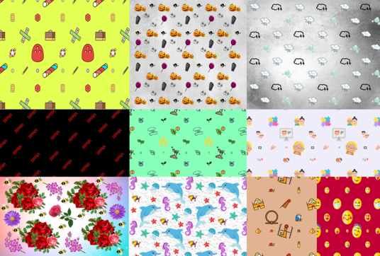 design a cool and unique seamless pattern in 24 hours