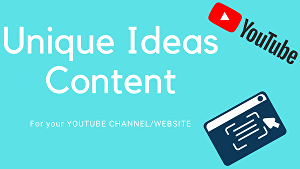 I will research  content ideas for your YouTube channel or Website - Blog