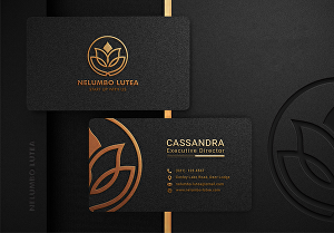 I will professionally design a business card for you