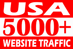 I will drive 5000+ USA safe web traffic
