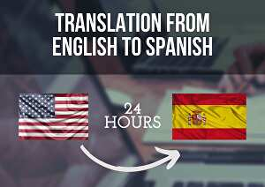 I will translate 500 words from English to Spanish