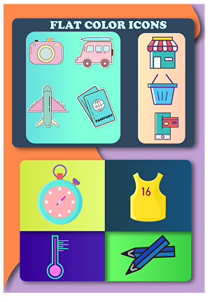 I will Design 4 Professional Custom Icon for you