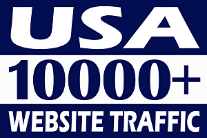 I will drive 10000+ USA safe web traffic