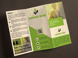 I will design business trifold or bifold brochure design,flyer