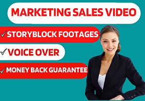 I will create commercial-style marketing short video  ad