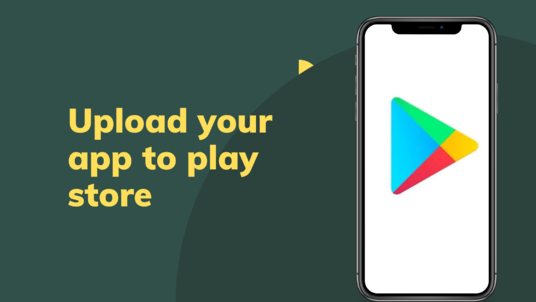 upload android app on google play store